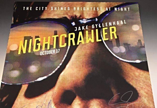 Nightcrawler Cast Signed Movie Poster - 2