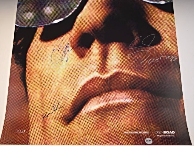 Nightcrawler Cast Signed Movie Poster - 3