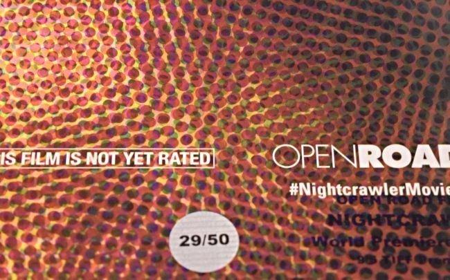 Nightcrawler Cast Signed Movie Poster - 4