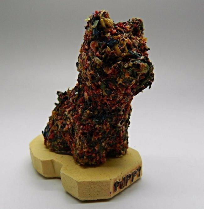 Jeff Koons Puppy Sculpture