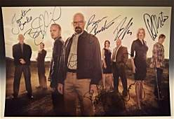 Breaking Bad Cast Signed Photo