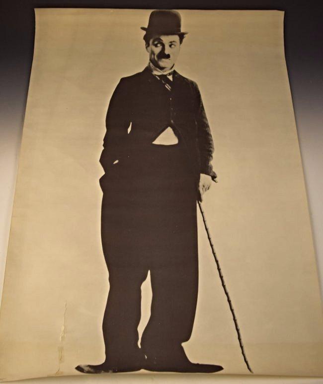 Vintage Charlie Chaplin Poster