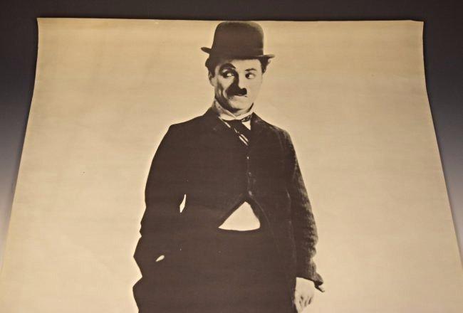 Vintage Charlie Chaplin Poster - 2