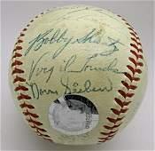 1958 Yankees Team Signed Baseball