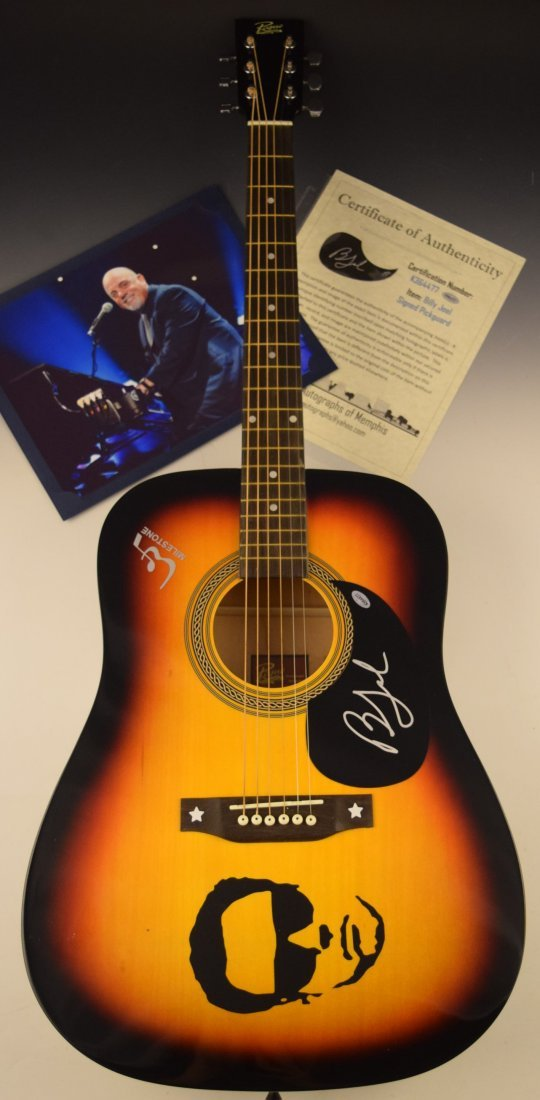 Billy Joel Signed Guitar
