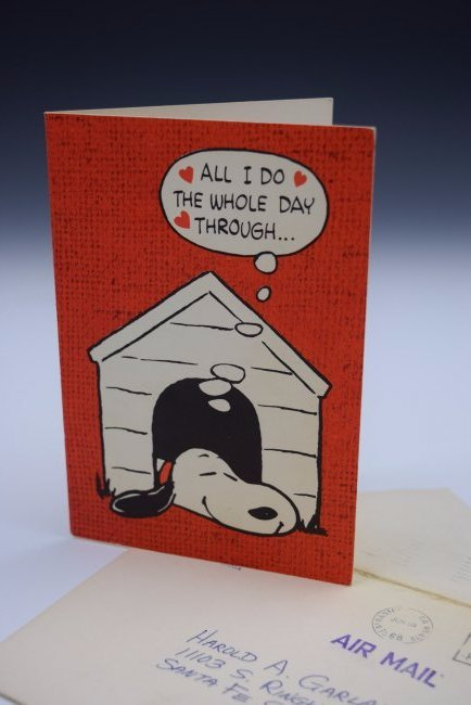 Charles Schulz Signed Birthday Card - 3