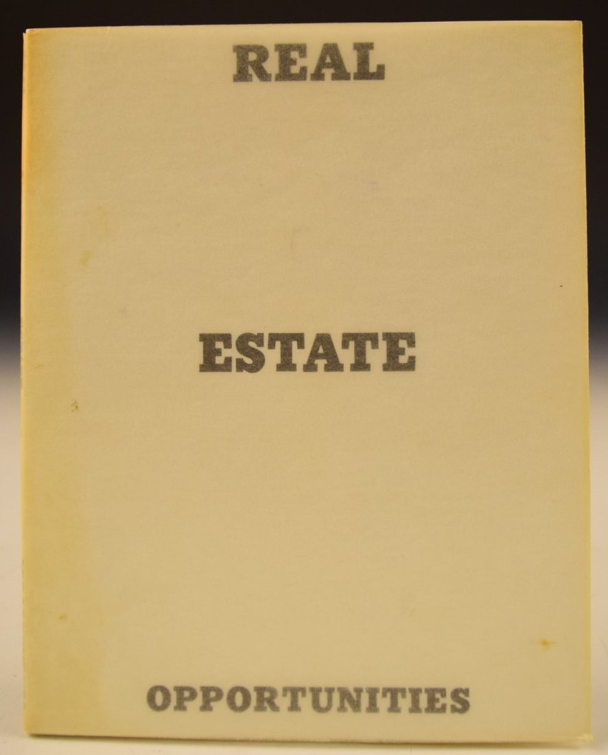 Ed Ruscha Real Estate Opportunities