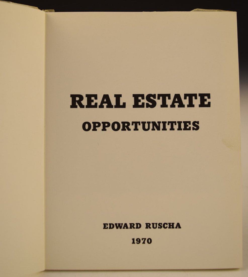 Ed Ruscha Real Estate Opportunities - 2