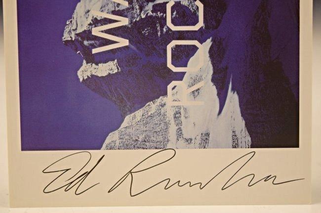 Ed Ruscha Signed Card - 2