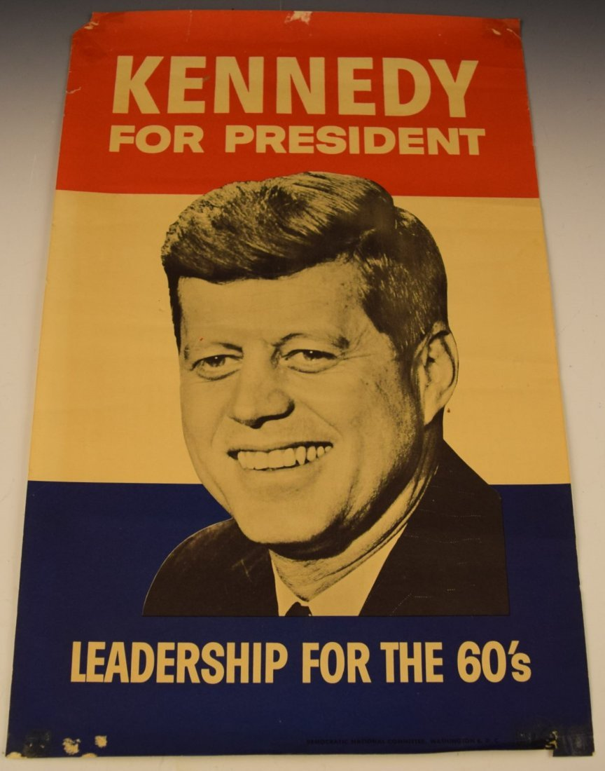 John F. Kennedy Campaign Poster