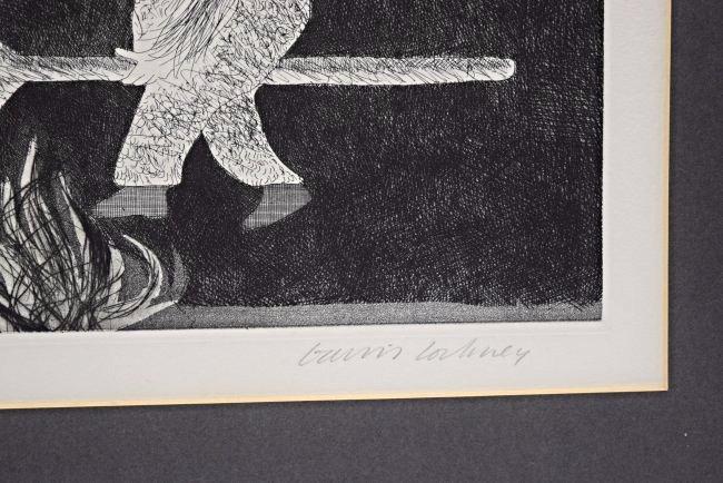 David Hockney Signed/Numbered Etching - 3