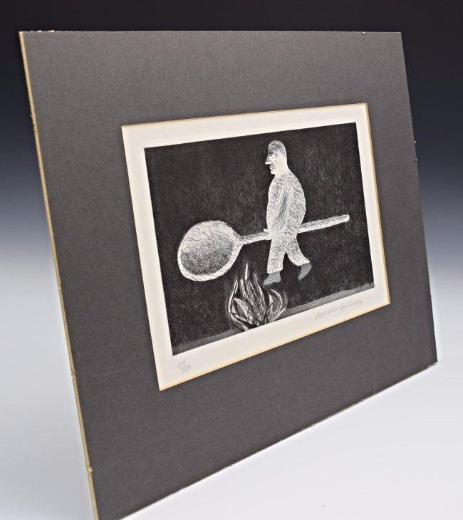David Hockney Signed/Numbered Etching - 5