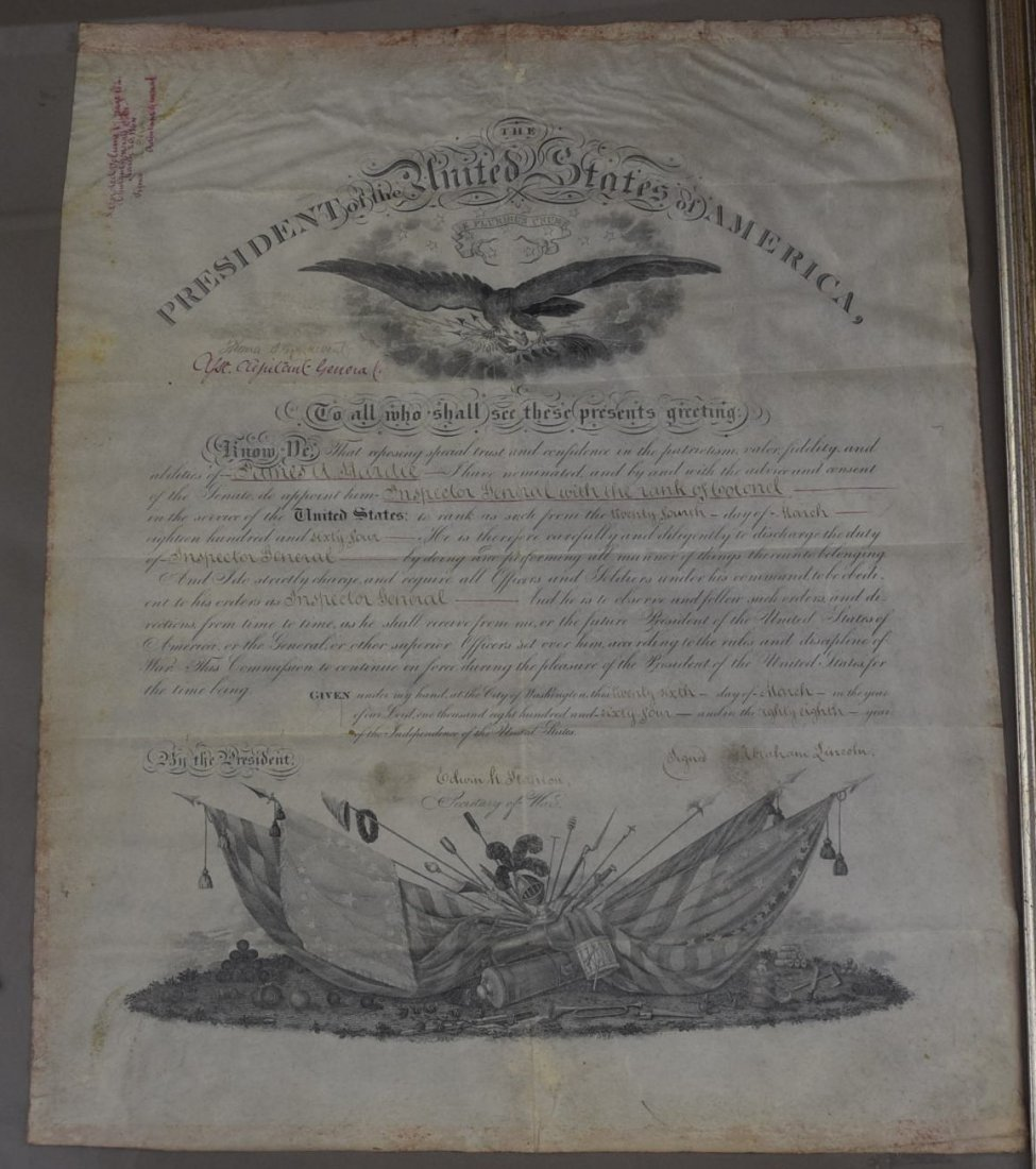 Abraham Lincoln Signed Document - 2