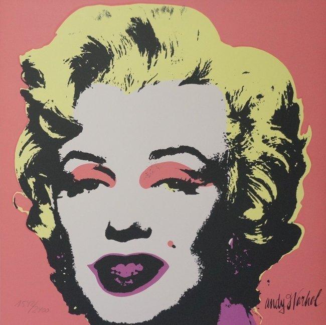 Andy Warhol Marilyn Screenprint