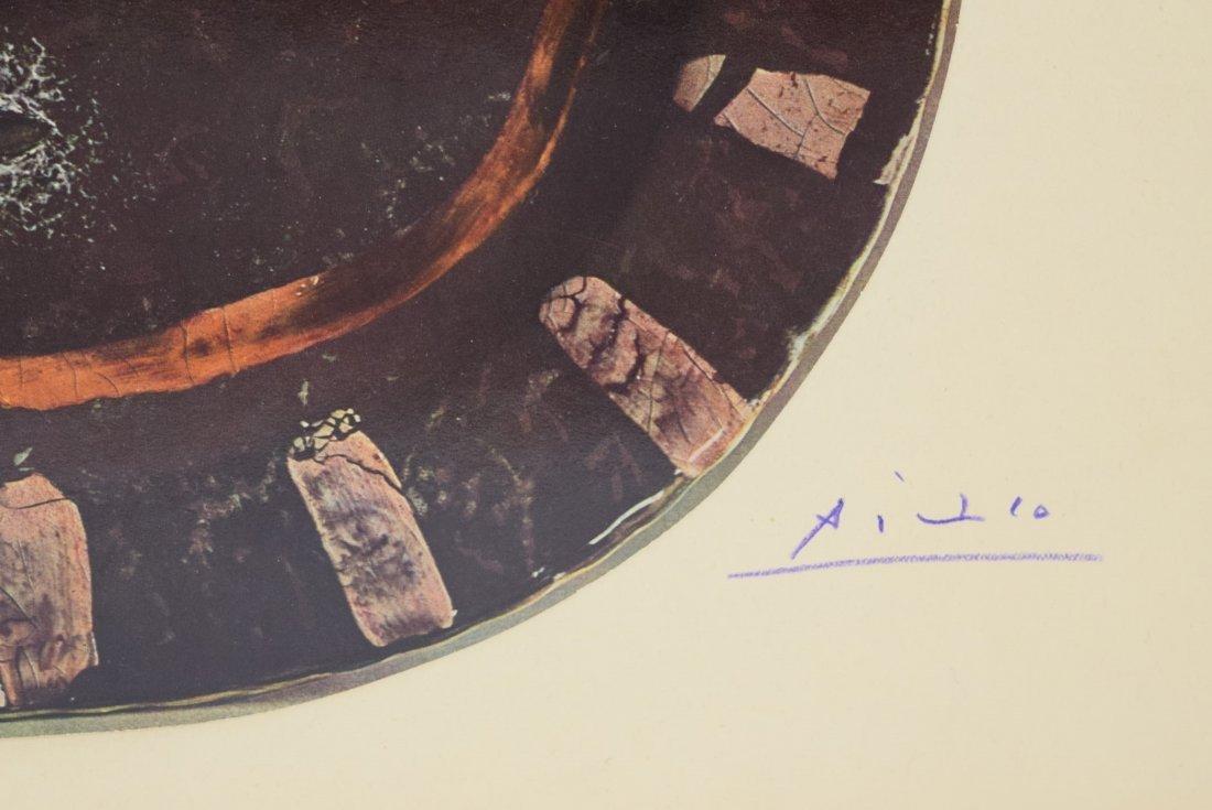 Pablo Picasso Signed Bookplate - 2