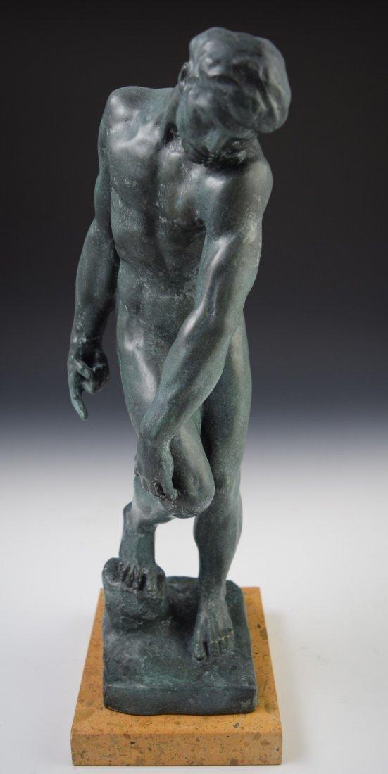 After Auguste Rodin Bronze Sculpture