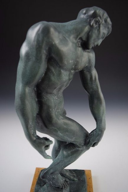 After Auguste Rodin Bronze Sculpture - 3