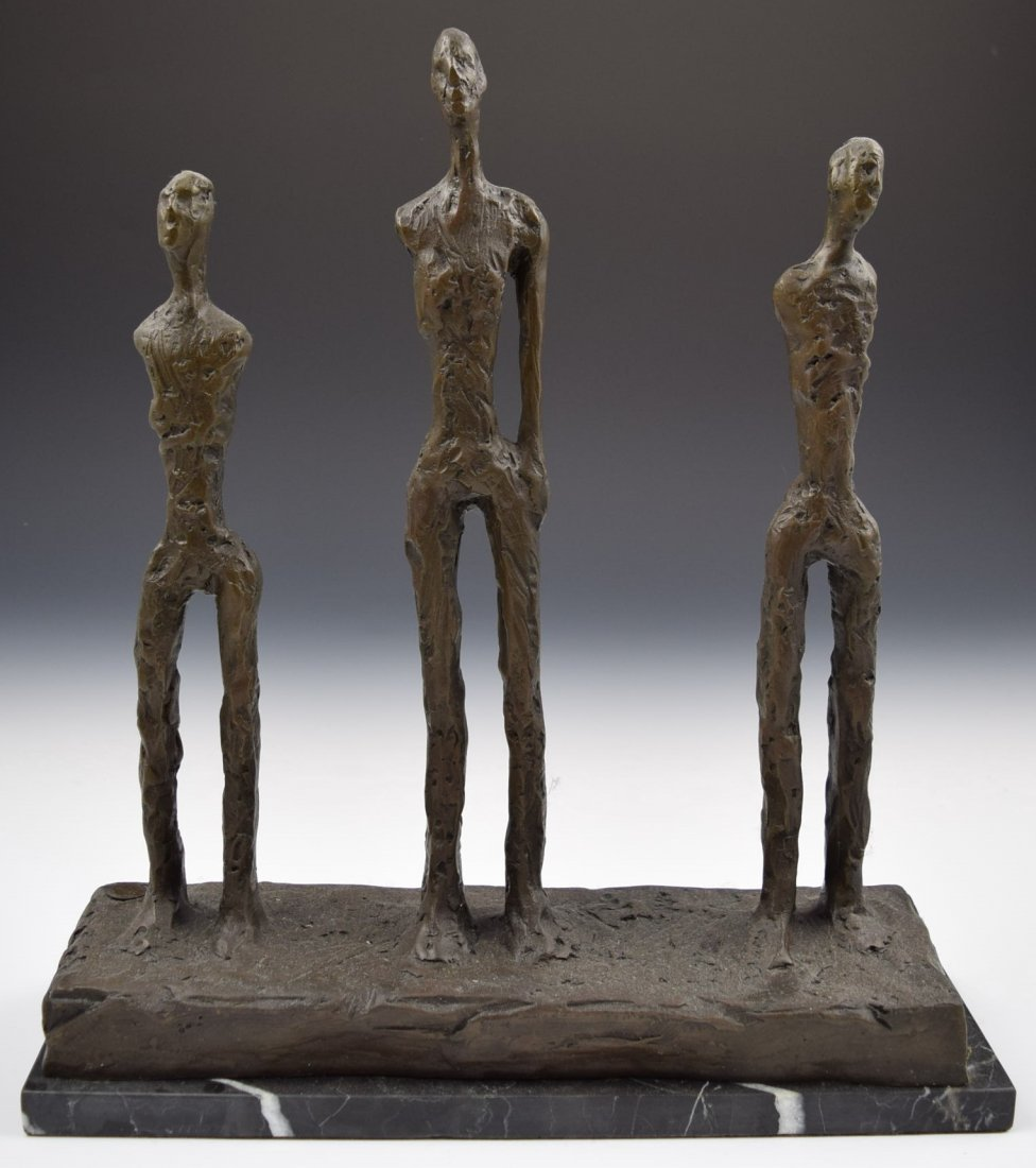 After Alberto Giacometti Bronze Sculpture
