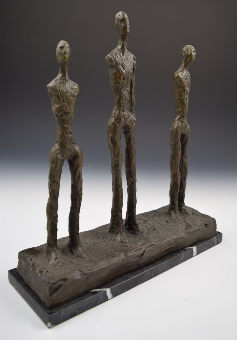 After Alberto Giacometti Bronze Sculpture - 2