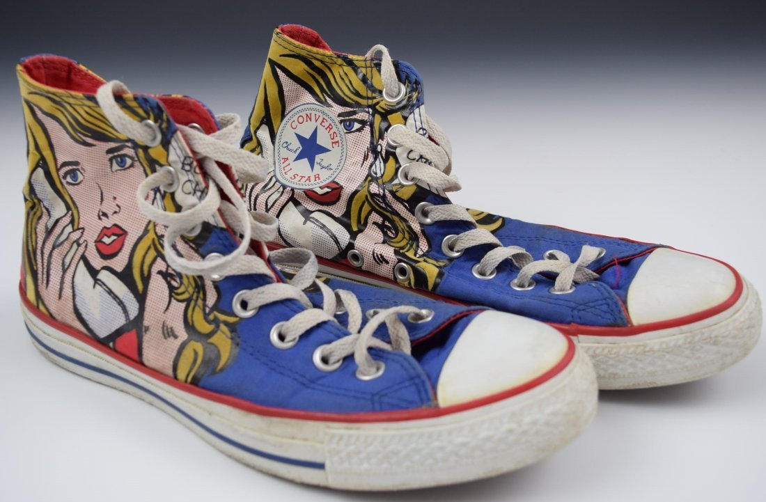 Roy Lichtenstein Shoes