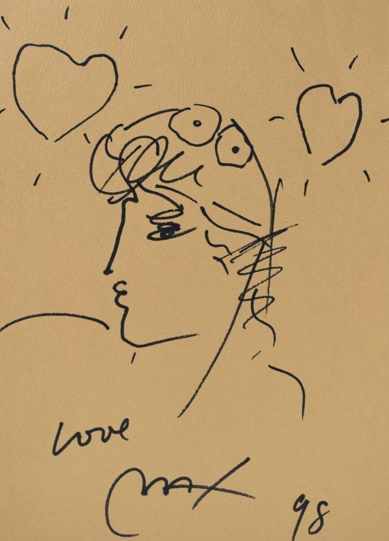 Peter Max Drawing - 2
