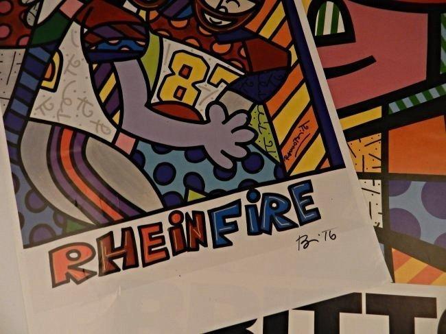 Romero Britto Signed Posters - 2