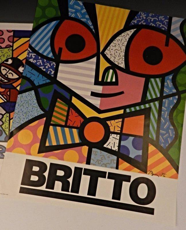 Romero Britto Signed Posters - 4
