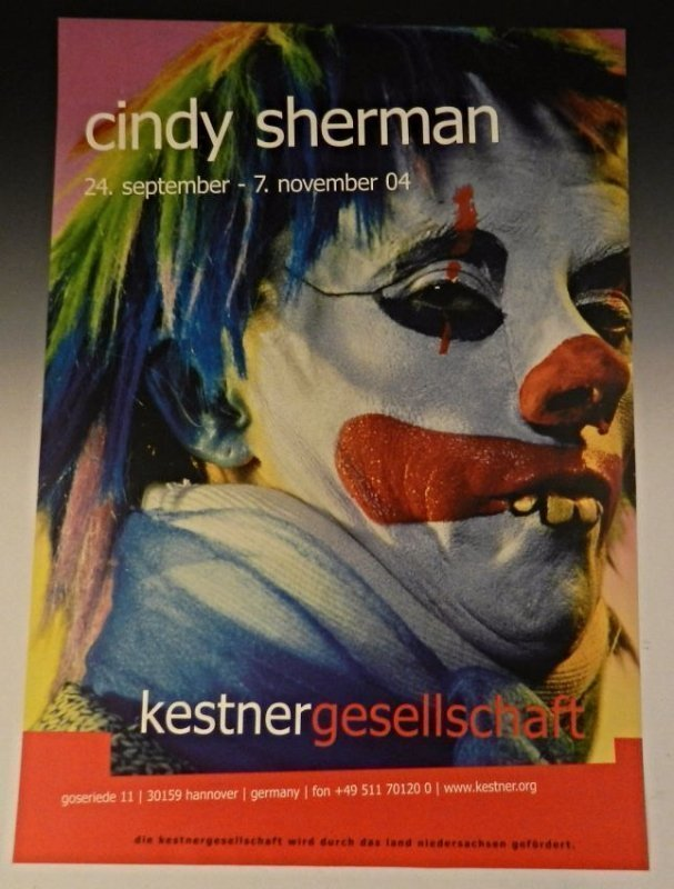Cindy Sherman Signed Poster