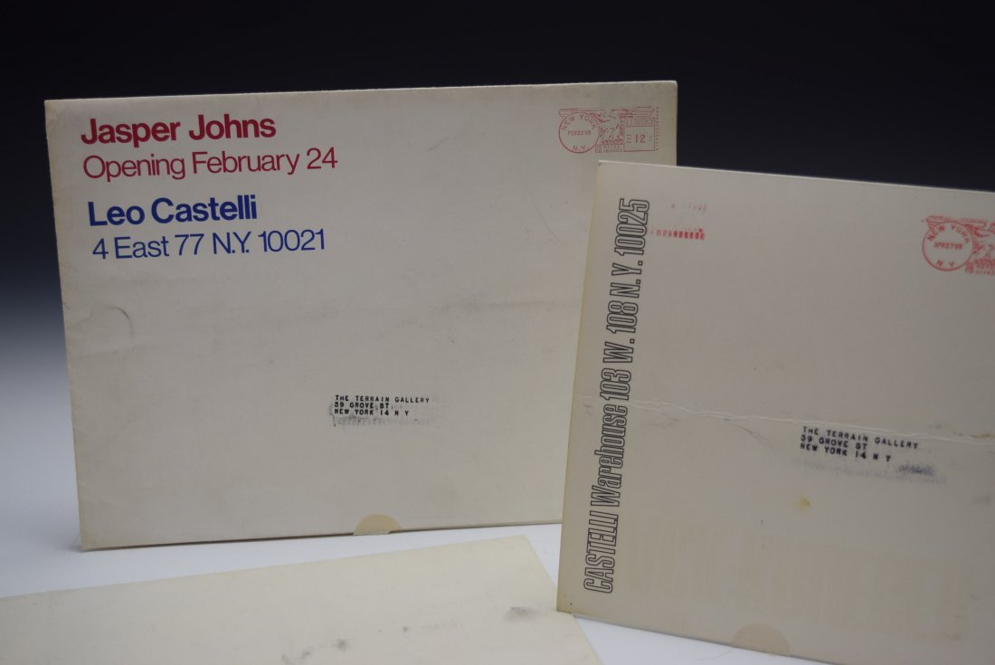 Leo Castelli Gallery Mailers - 2
