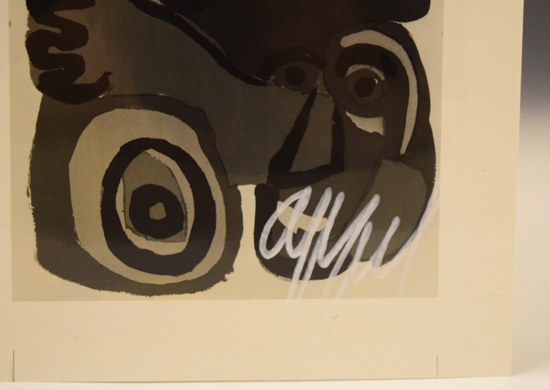Karel Appel Signed Photograph - 3