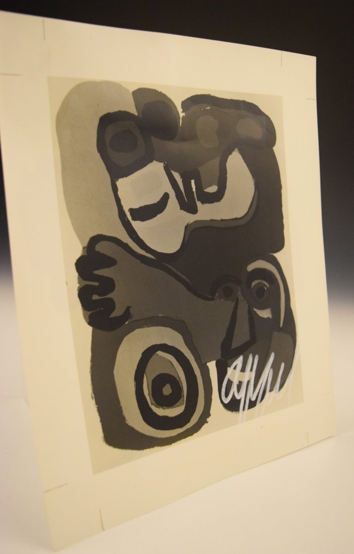 Karel Appel Signed Photograph - 4