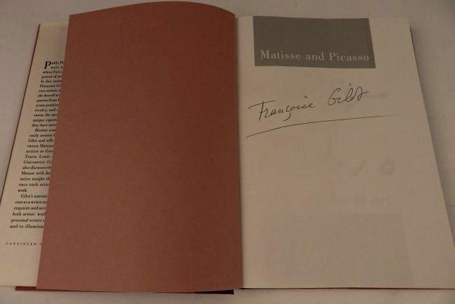 Francoise Gilot Signed Book - 2