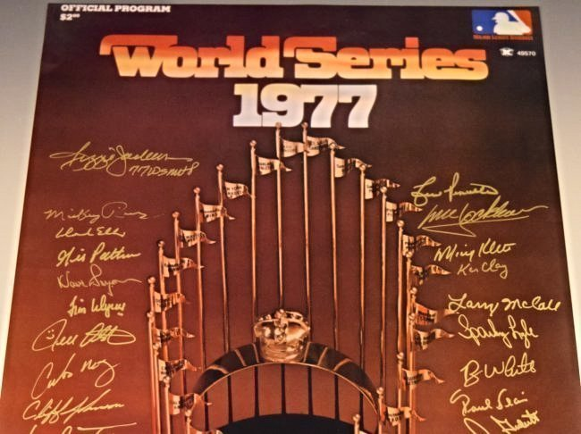 Yankees World Series Team Signed Photograph - 2