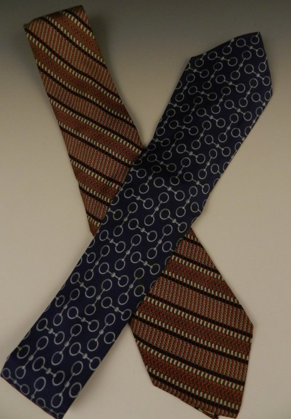 Hermes Silk Ties