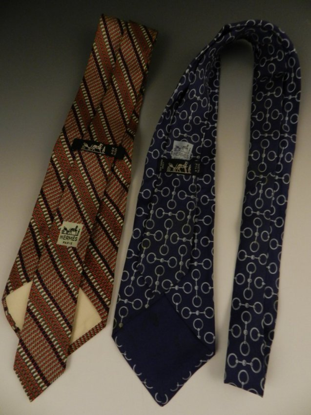 Hermes Silk Ties - 2