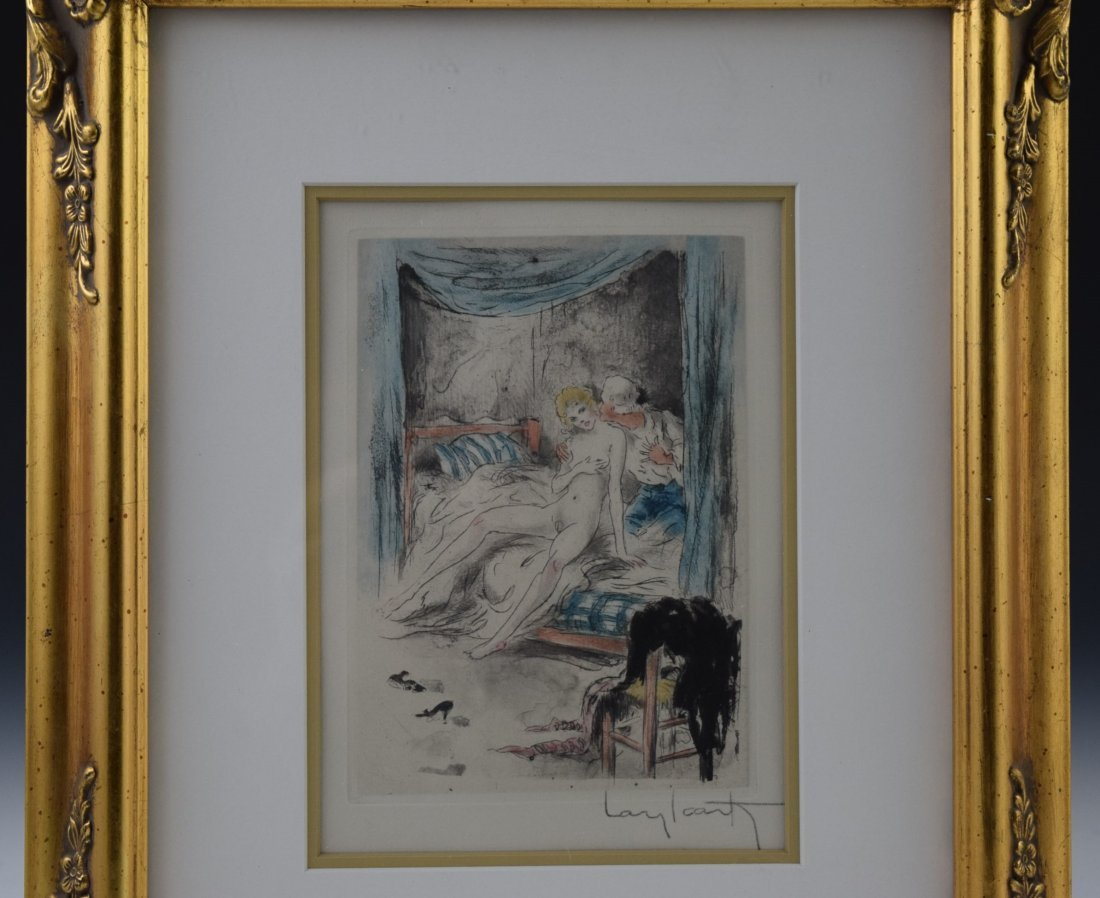 Louis Icart Signed Etching - 2