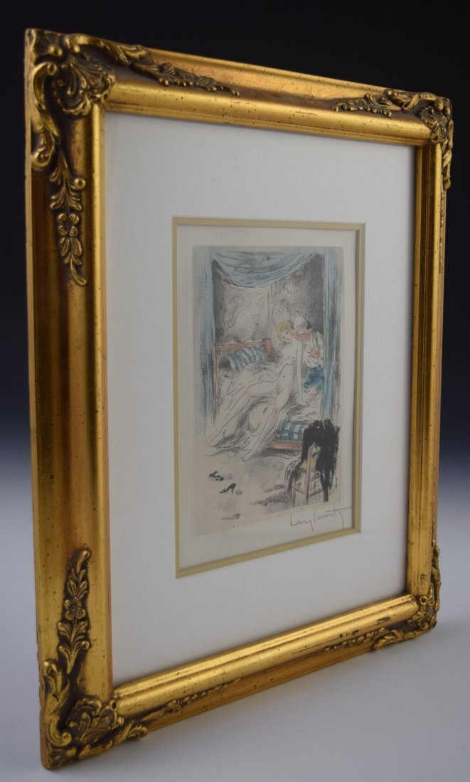 Louis Icart Signed Etching - 3