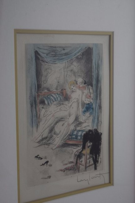 Louis Icart Signed Etching - 4