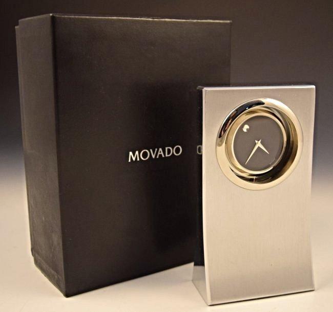 Movado Dealer Clock