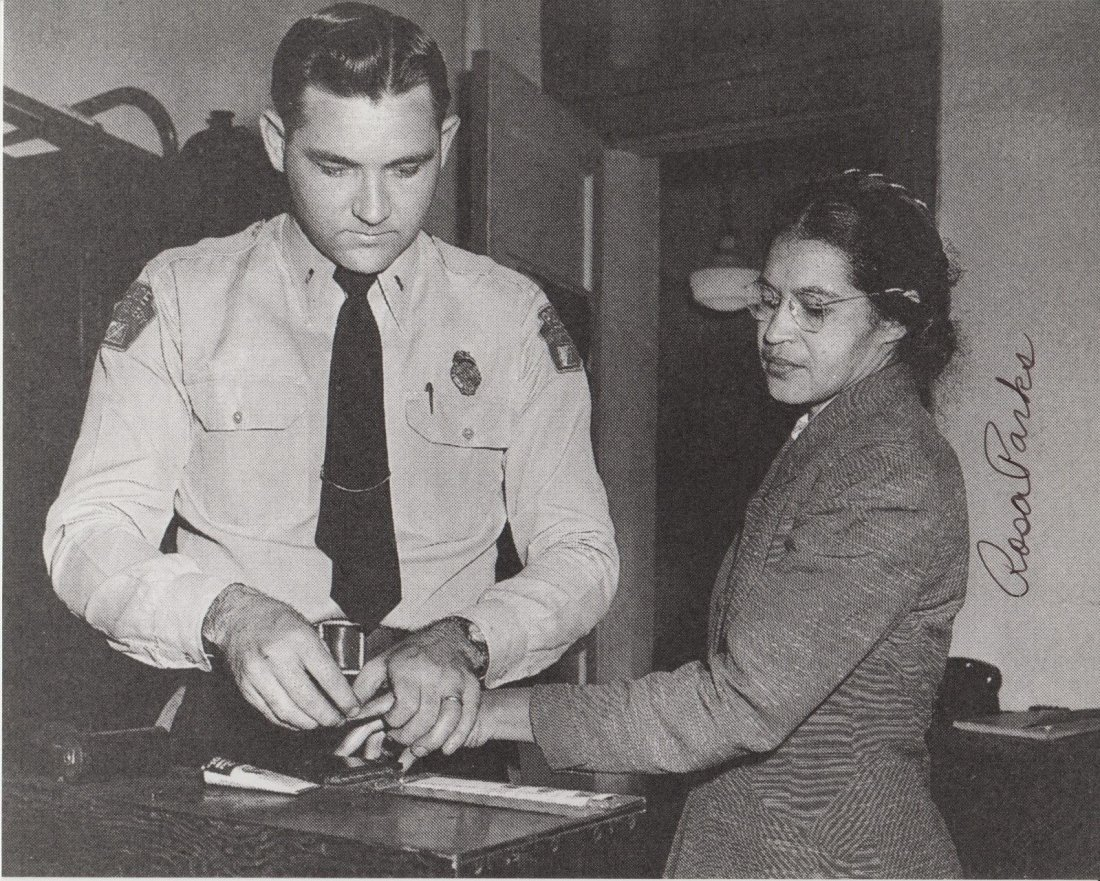 Rosa Parks Signed Photo