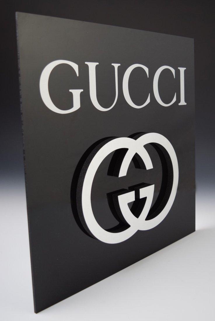 Gucci Logo Wall Display