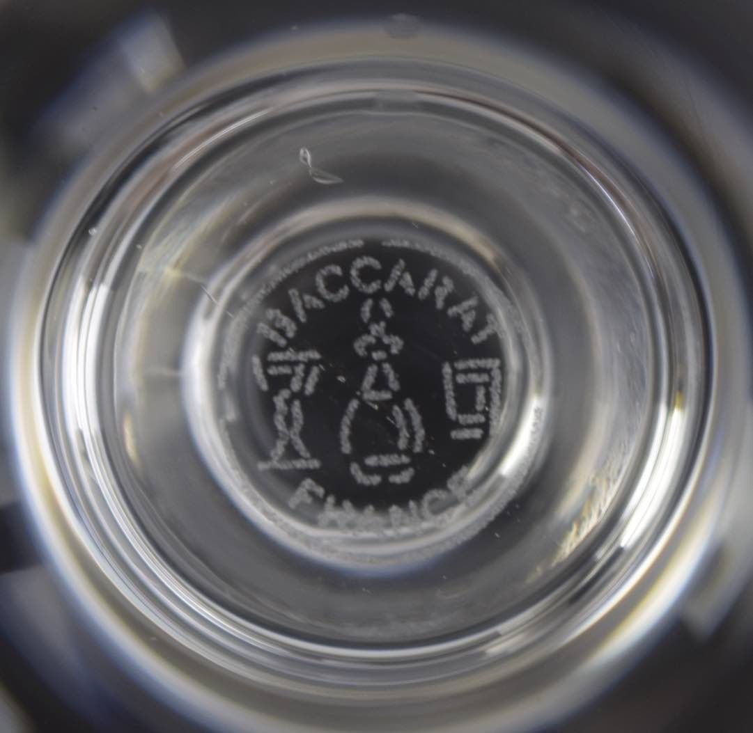 Baccarat Wine Glasses - 2