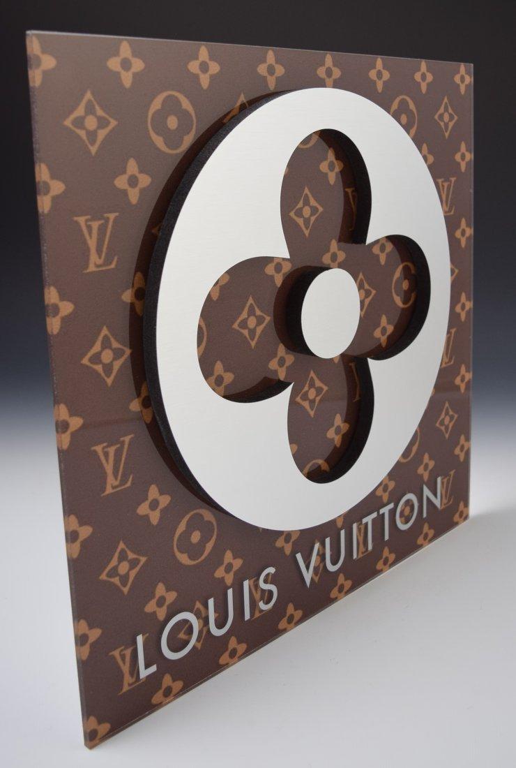 Louis Vuitton Display Logo