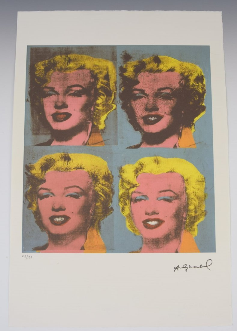 Andy Warhol Lithograph