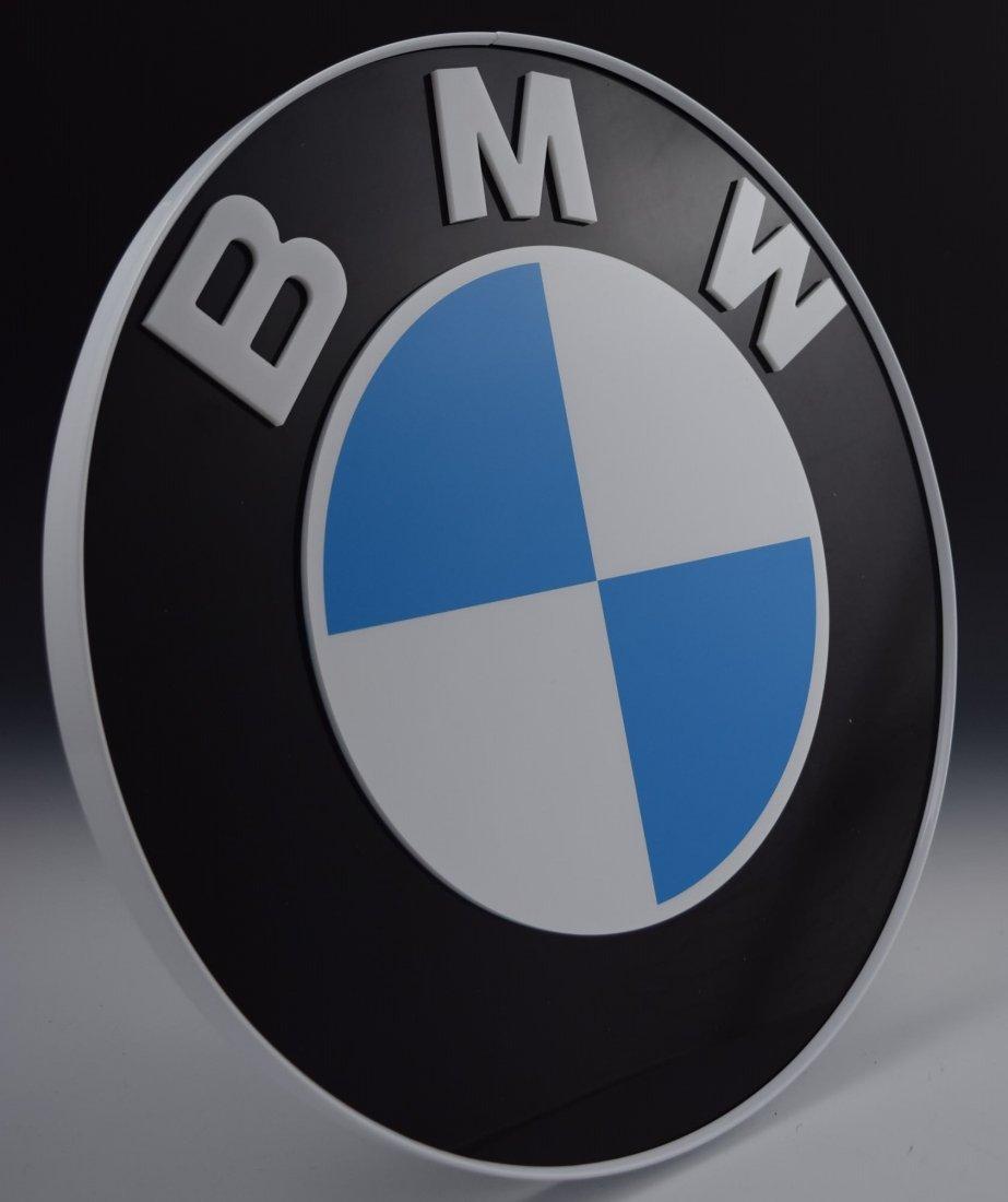 BMW Logo Wall Display
