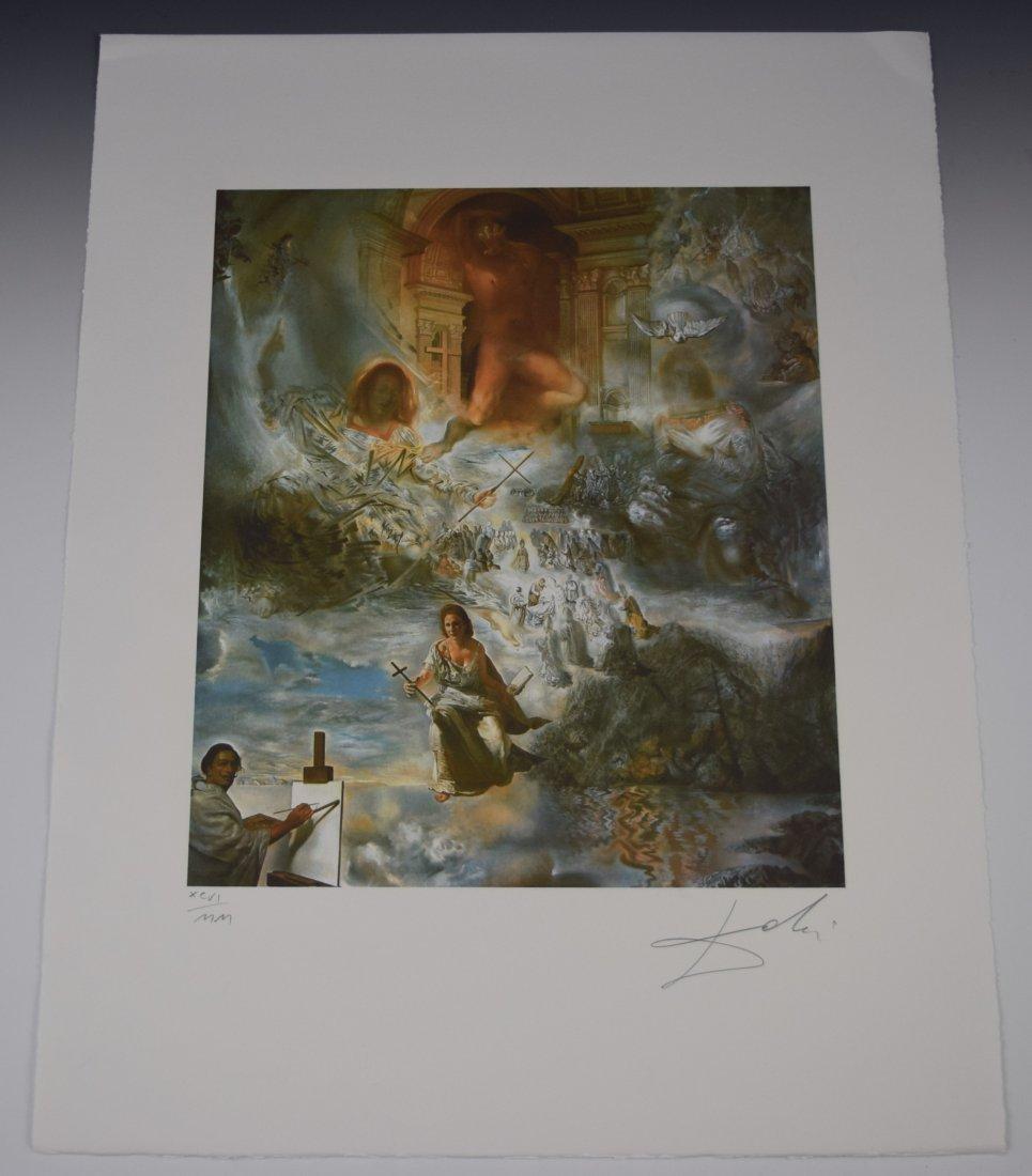 Salvador Dali Signed Lithograph