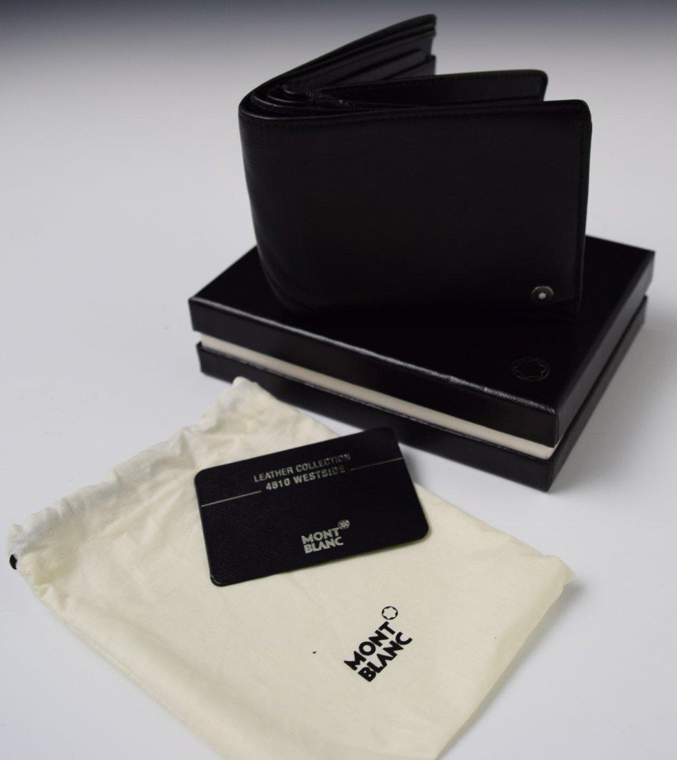 Montblanc Black Leather Wallet