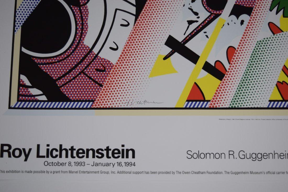 Roy Lichtenstein Signed Poster - 2