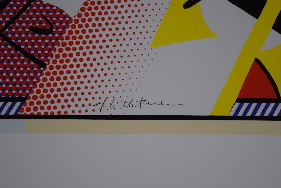 Roy Lichtenstein Signed Poster - 3