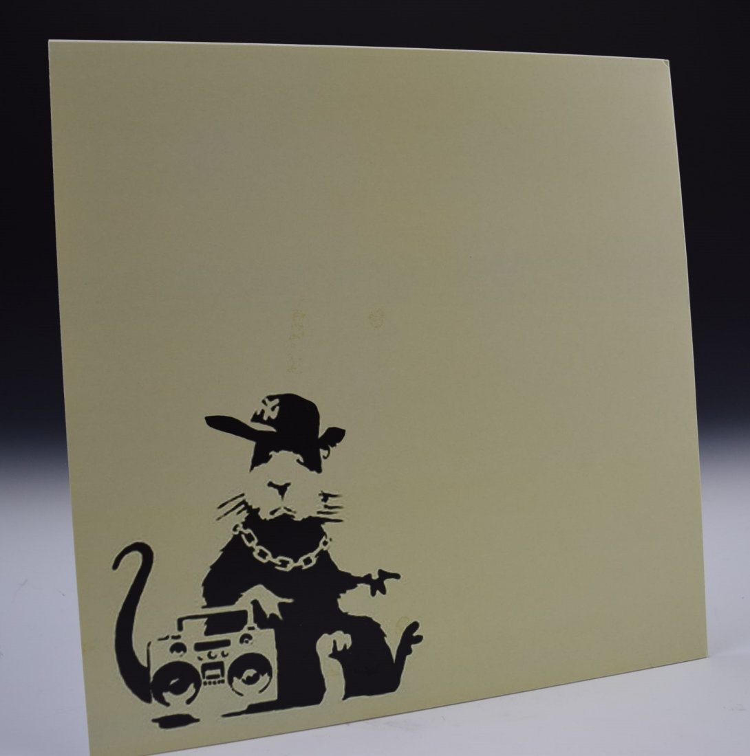 Banksy LP Sleeve